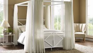 Beds Fabric Crown Canopy Draping Set Dorm Bunk Stand Curtains Frame ...