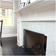 glass mosaic tile fireplace surround a looking for clear blue clea