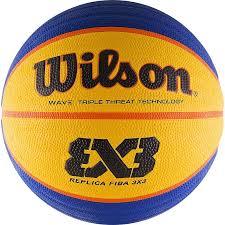 <b>Мяч баскетбольный Wilson</b> FIBA 3x3 Replica, WTB1033XB, синий ...