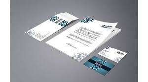 Free Download Business Card Letterhead Envelope Template Youtube