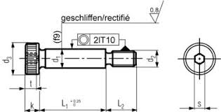 Iso 7379 Specifications For Shoulder Bolts Fuller Fasteners