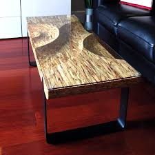 parallam coffee tables design hand finishing one of a kind tables