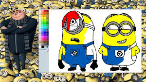 Small Picture Despicable Me Minions Coloring Pages Minions Coloring Game YouTube