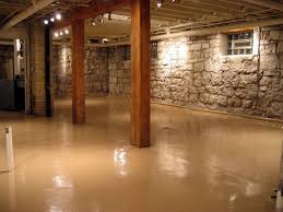 Modern Modern Basement Flooring Modern Basement Wet Bar Designs - Wet basement floor ideas