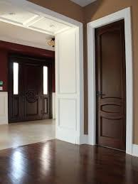 white interior doors with wood trim. Interesting White White Doors With Wood Trim Best And Images On Home The  In Interior R