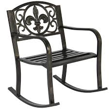 best choice s metal rocking chair seat