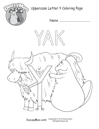 Instead of passive entertainment, coloring in pictures and creating their own the free uppercase letter printables below are a great introduction to the english alphabet, and fun way to play and learn at the same time. Cute Alphabet Coloring Pages Free Printables Doozy Moo