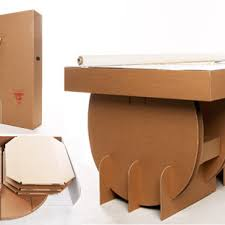 karton cardboard furniture. Related To Tables Karton Cardboard Furniture. Portable Table From  Liborius Reykjavk Karton Cardboard Furniture