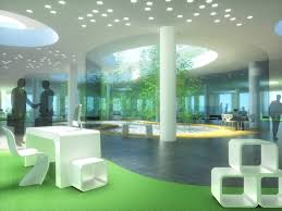 open office architecture images space. office open space interior 3d rendering architecture images