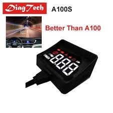 <b>Newest</b> Car Speedometer A100S Car <b>HUD</b> Head Up Display ...