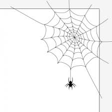 Illustrator3分でクモの巣を描くチュートリアルハロウィン