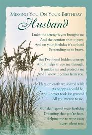 happy birthday husband in heaven | birthday heaven husband ... via Relatably.com