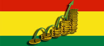 Resultado de imagen para Crecimiento económico bolivia