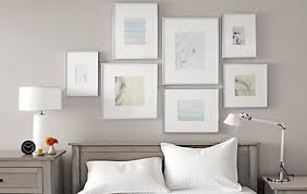 silver modern picture frames. Frames As Shown: (left) 5x7; (top) 8x10, 11x14, (bottom) 11x11,  8x8. Silver Modern Picture Frames L