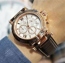 mens guess collection watches guess collection gc b1 class leather chronograph mens watch x44001g1