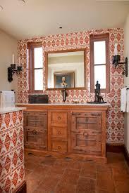 MediterraneanStyle Powder Rooms Traditional Home - Mediterranean style bathrooms