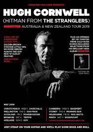 <b>Hugh Cornwell</b> (The Stranglers) <b>Monster</b> Australia New Zealand ...