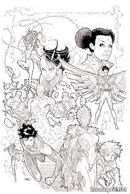 Teen Titans 16 Coloring Book Variant Cover Art On Sale Jan 2016