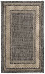 natco home tahiti pebble indoor outdoor area rug 2 x 2 11