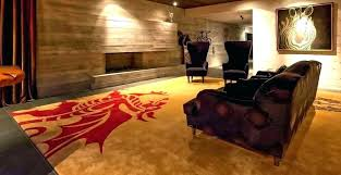 bold idea man cave area rugs architecture