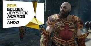 Image result for golden joystick awards 2018