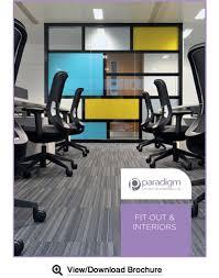 office image interiors. Paradigm-brochure-cover Office Image Interiors