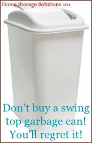 Donu0027t Buy A Swing Top Trash Can, Youu0027ll Regret It!