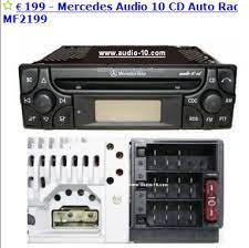Autoradio mercedes audio 10 cd mf2910 code trovare codice. W168 I Pod Mit Audio 10 Cd