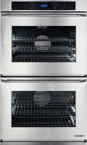 dacor renaissance rno230s208v stainless steel double wall oven with epicure handle