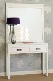 white lacquer oriental console table