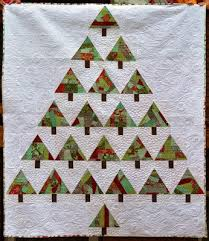Quilt Inspiration: Free pattern day: Christmas quilts (part 1): Trees! & Cool Yule quilt, 49 x 50