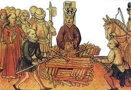 Resultado de imagen de imagenes medievales de la hoguera