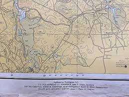 Boston Harbor Chart Large Map Boston Harbor Massachusetts Nautical Chart 1966