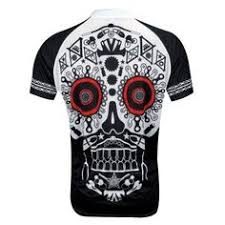 Primal Wear Los Muertos / Sugar <b>Skull</b> - Short Sleeve <b>Cycling</b> ...
