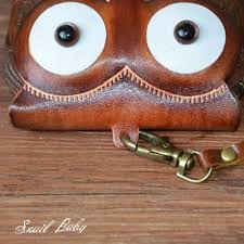 handmade purse genuine leather wallet coin purse animal owl cartoon bag mini purse gift wallet in wallets from luggage bags on aliexpress com alibaba