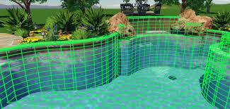 3d swimming pool design software.  Design Pool Design Online Choose Your Swimming Features With 3D Designs On 3d Software I