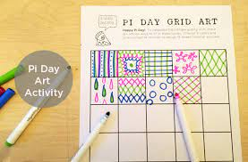 Pi day is observed on march 14 since 3, 1, and 4 are the first three significant digits of pi day activities for little kids. Pi Day 2015 Pi Day Art Project Tinkerlab