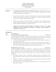 Resume For Non Profit Job Resume Objective Statement Non Profit Therpgmovie 6