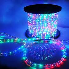 outdoor xmas lighting. vidagoods 150u0027 led rope light 110v party home outdoor xmas lighting ip67 waterproof rgb 0