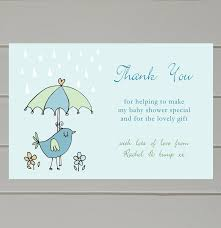 Thank You Cards Baby Shower Personalised Baby Shower Thank You Cards By Molly Moo Designs