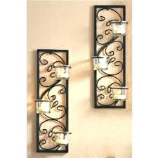 gold wall candle holders sconces gold wall sconce candle holder medium size of wall wall sconces