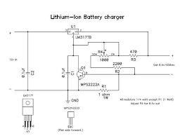 how to make lithium charger 3 steps step 1 the schematic