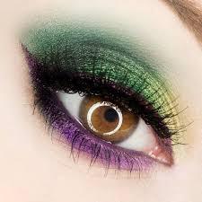 mardi gras eye make up for hazel eyes poison berry i m trying