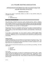 Document Template Ideas Unique Sponsorship Letter Template For
