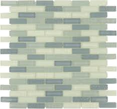 passion blue uniform brick glossy frosted glass tile
