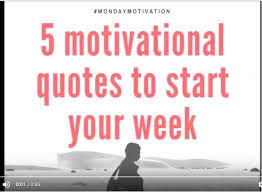 Week Quotes Delectable 48 Motivational Quotes To Start Your Week Izey Victoria Odiase