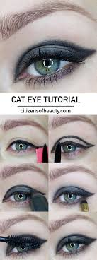 how to cat eye makeup tutorial