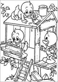 Kwik Kwek En Kwak Kleurplaten Animaatjesnl