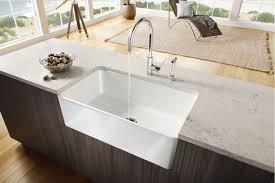 Farmhouse Style Kitchen Sinks Faucetcom 441695 In White By Blanco