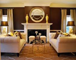 brown living room. Interesting Living Fine Decoration Brown And Gold Living Room 41 Best CHOCOLATE CREAM GOLD  Decor Images On Pinterest